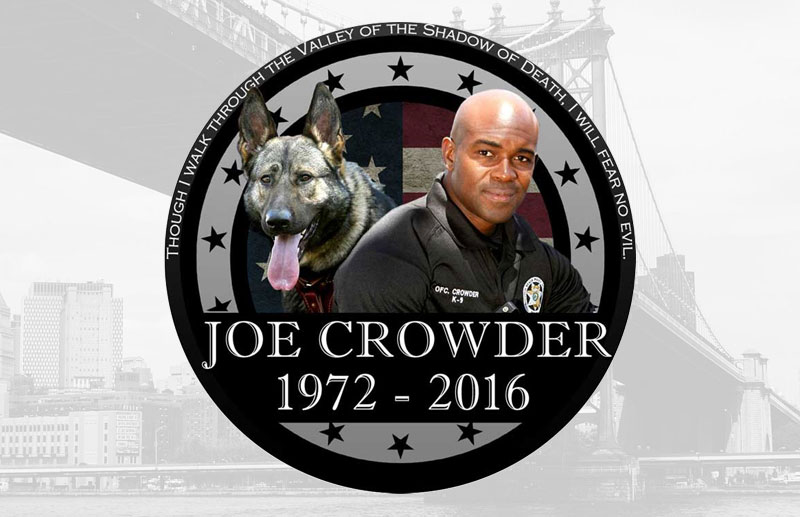 Joe Crowder 1972 - 2016