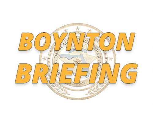 Boynton Briefing – OCt. 8, 2019