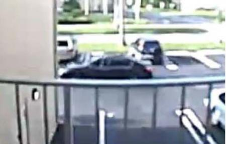 video of home invasion robbery suspect