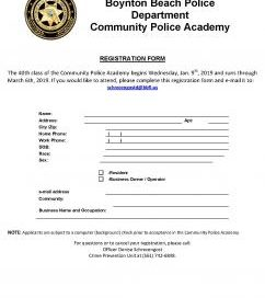 CPA Registration Form