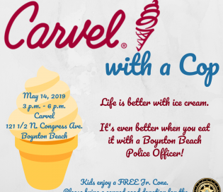 Carvel with a Cop