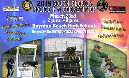 2019 south florida police k-9 competition