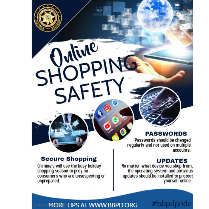 crime prevention tips for safe online shopping