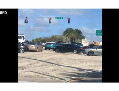 Traffic issues at Gateway Boulevard and High Ridge Road
