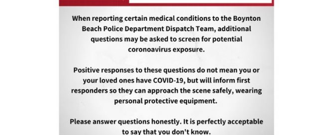 Information from BBPD dispatch team regarding calls to 911