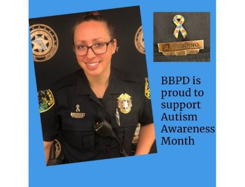 BBPD supports Autism Awareness Month