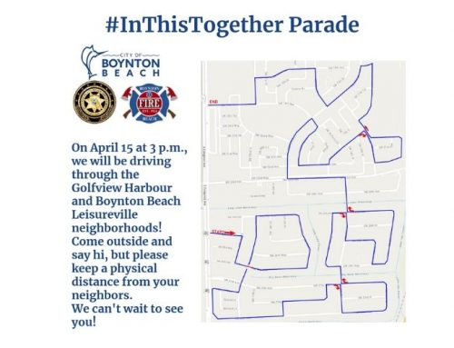 BBPD organizes #InThisTogether Parade