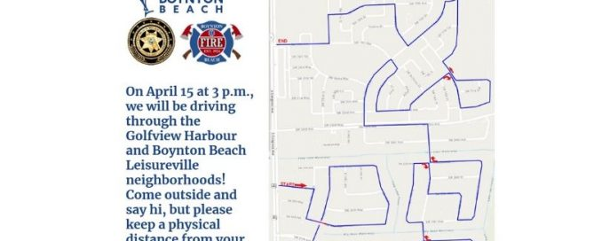 Parade route map for Wednesday April 15 at 3 p.m.