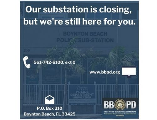 BBPD substation closing April 13