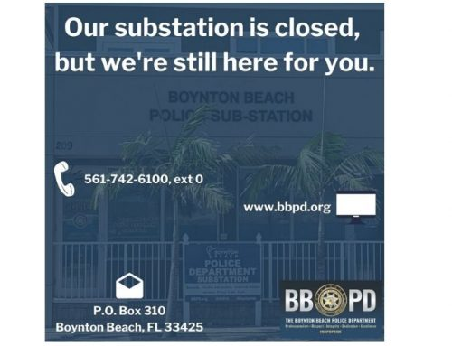 BBPD substation closed until further notice