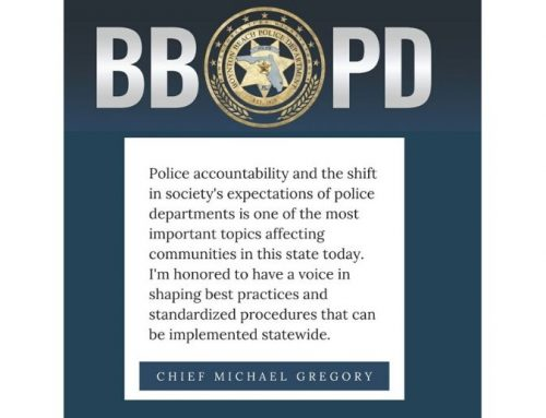 Chief Gregory appointed to New Subcommittee on Accountability and Societal Change