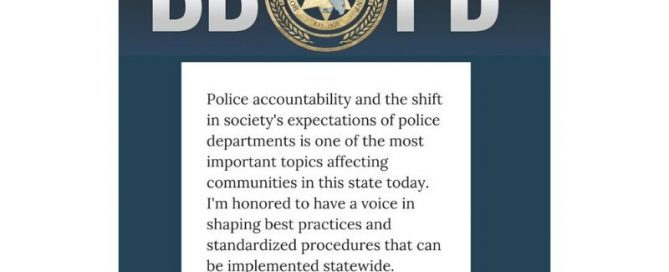 Statement by Chief Michael Gregory about New Subcommittee on Accountability and Societal Change