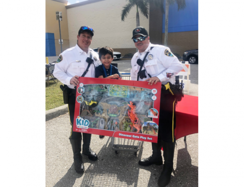 BBPD hosts annual Shop with a Cop