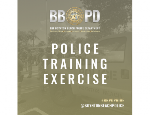 Police Training Exercise – Friday, March 12
