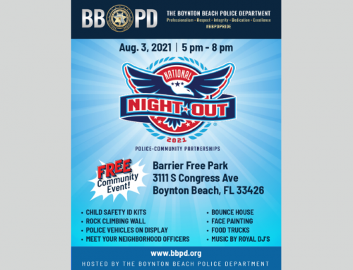 Boynton Beach Police hosting National Night Out