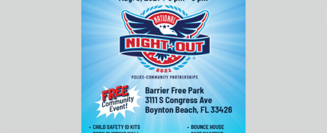 Announcement of National Night Out