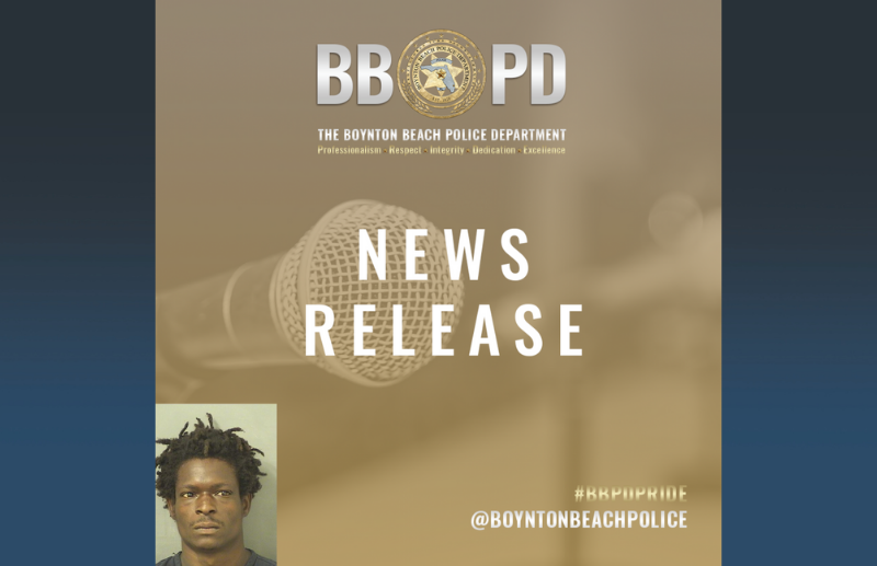 News release announcement with photograph of Jesse Lee Roberts IV