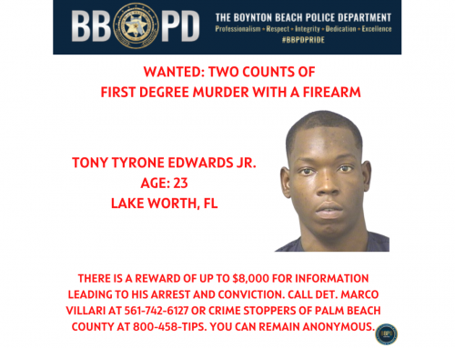 Reward offered for information on suspect in double homicide