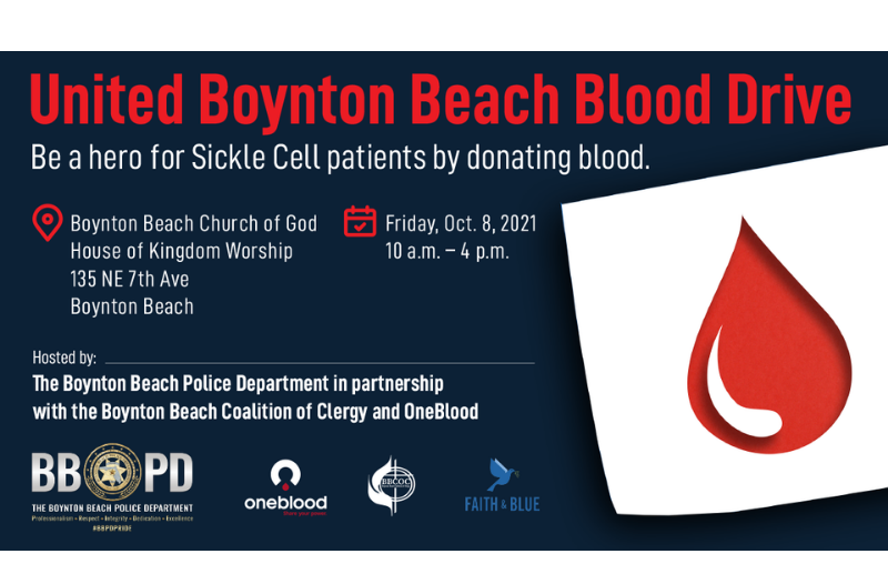Announcement of Blood Drive